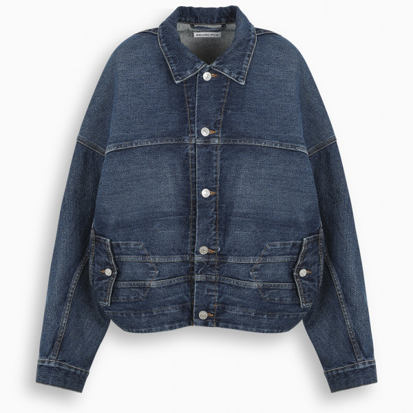 Balenciaga Denim Upside Down jacket