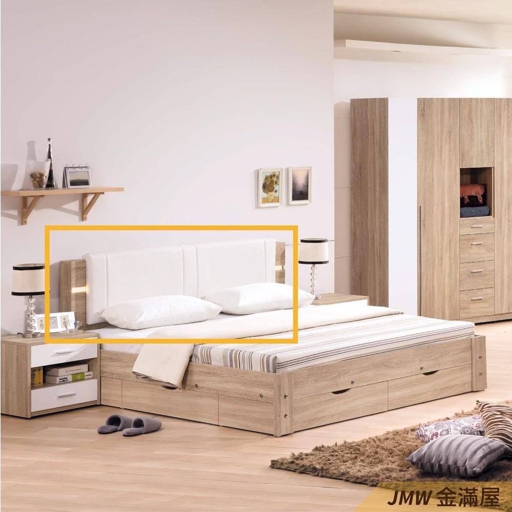 標準雙人5尺 床頭片 床頭櫃 單人床片 貓抓皮 亞麻布 貓抓布金滿屋j96-01 -