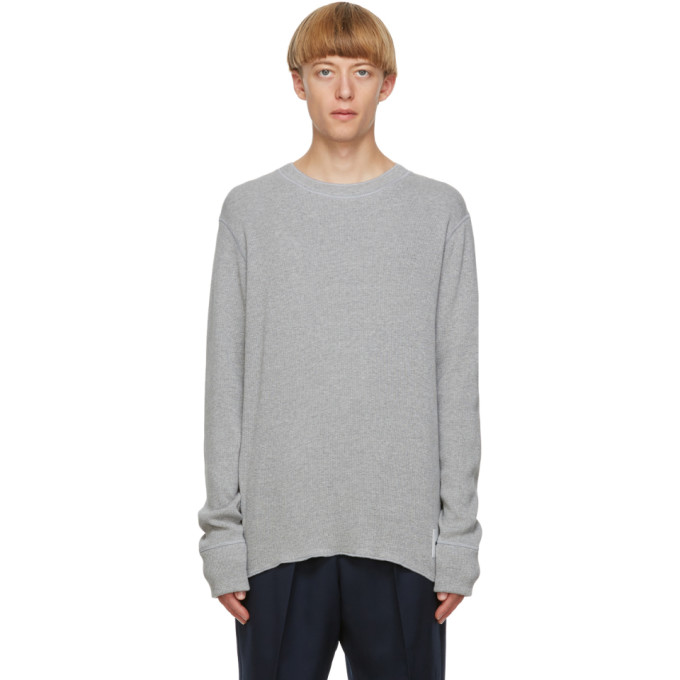 Jil Sander 灰色长袖 T 恤