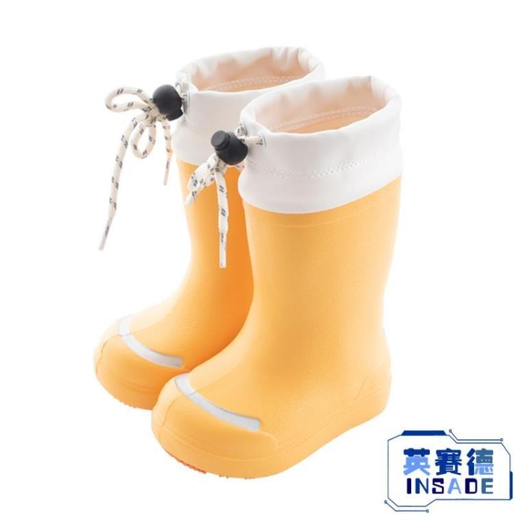 兒童雨鞋男童女童水鞋防滑1-3歲膠鞋防水中筒靴子套鞋【英賽德3C數碼館】