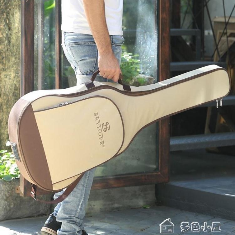 吉他包吉他包41寸加厚雙肩背包防水通用403938學生用民謠琴包套袋個 交換禮物YXS