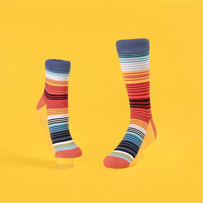 | 線條系 | 印花襪 - 森巴嘉年華
