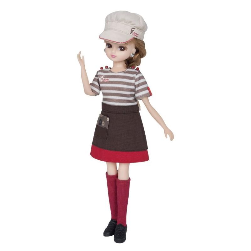 莉卡娃娃Licca Mister Donut制服 玩具反斗城