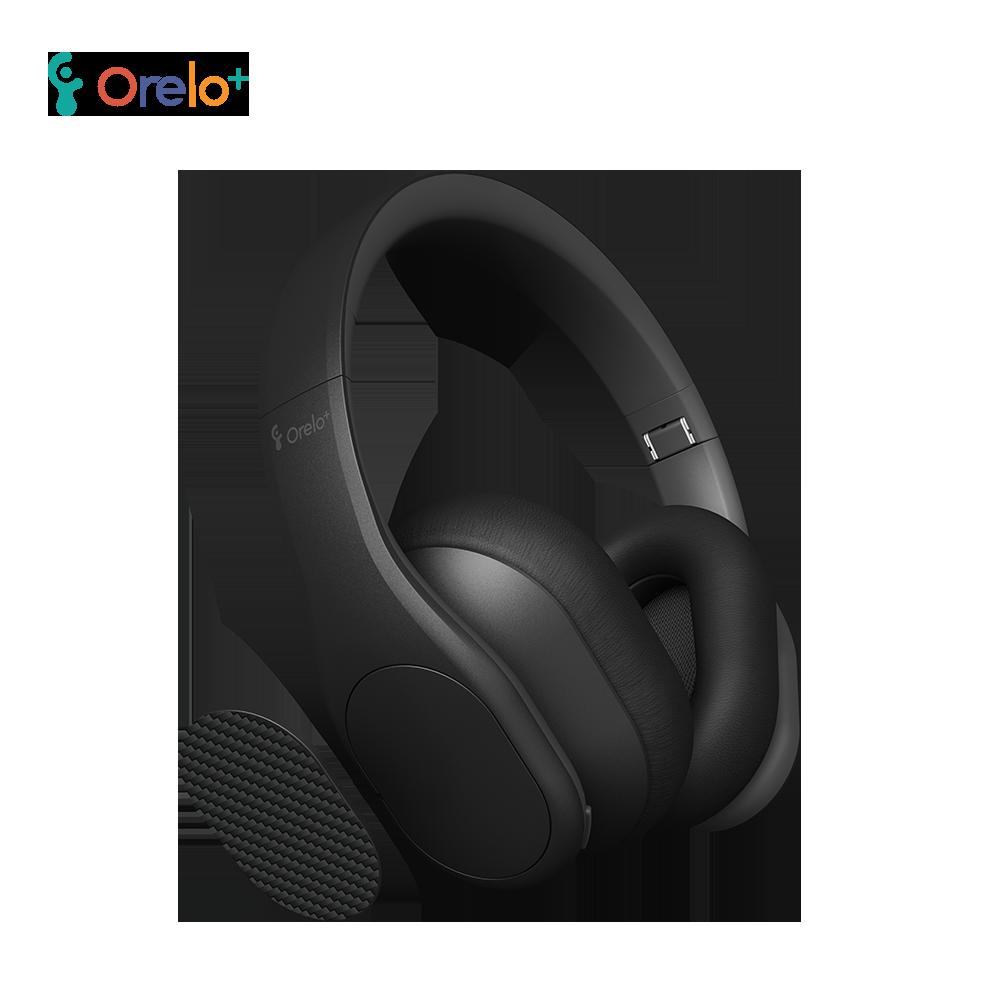 ◆快速到貨◆【Orelo+】頭戴式藍牙降噪耳機聽力保護者P103-太空灰
