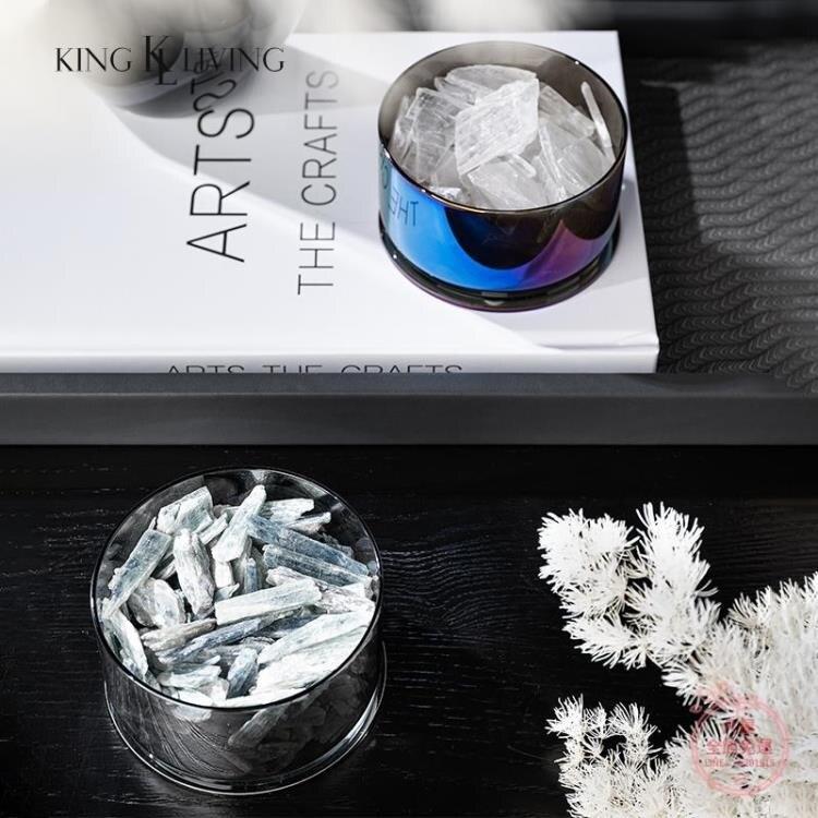 擴香香薰 邸高家居極簡約礦石擺件樣板房客廳售樓處桌面擺場臥室內軟裝飾品-快速出貨 雙12購物節