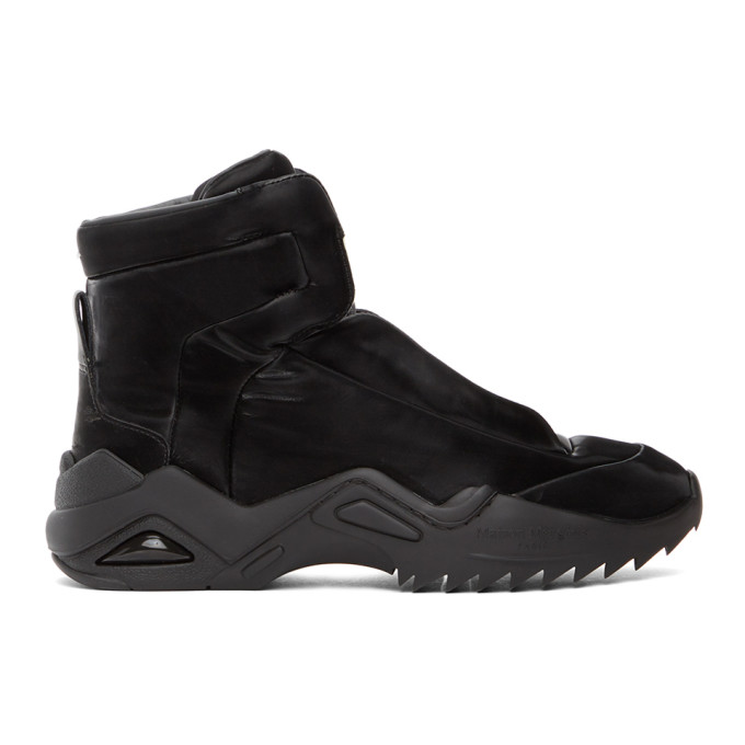 Maison Margiela 黑色 New Future II 高帮运动鞋