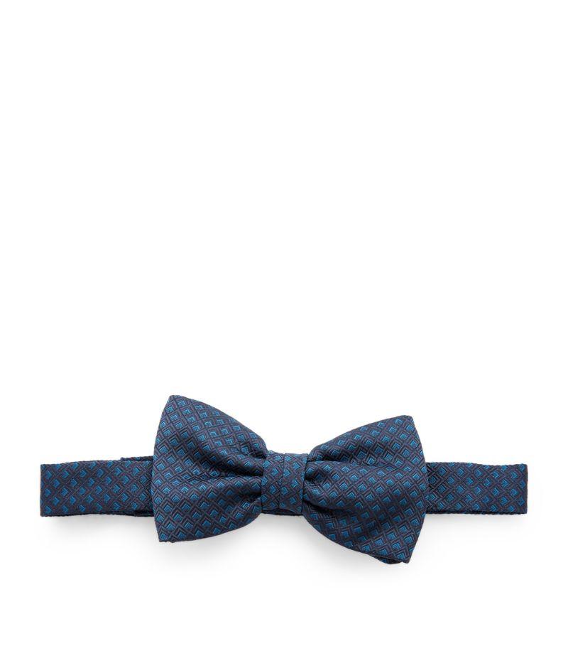 Stefano Ricci Kids Pre-Tied Silk Jacquard Bow Tie