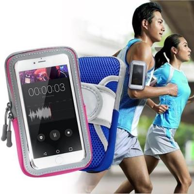 AISURE for iPhone XR / iPhone 11 透氣手機觸控運動臂套臂袋