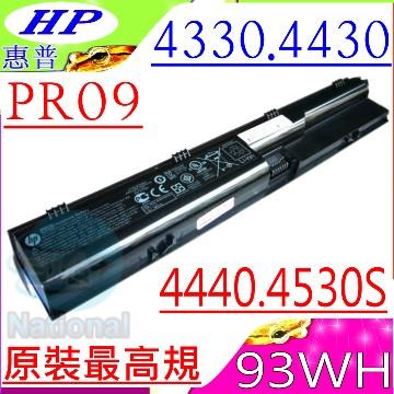 HP電池-康柏電池-PR06,PR09,4446S,4440S,4441S,4545S,4540S,4545S,HSTNN-I02C,HSTNN-DB2R