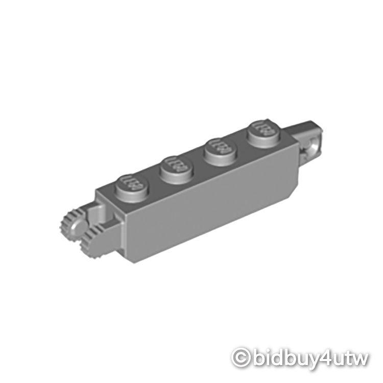 LEGO零件 樞紐 30387 淺灰色 4211695【必買站】樂高零件