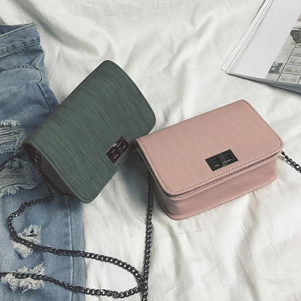 特賣 春夏小包包夏季潮流新款韓版百搭鏈條小方包鎖扣單肩斜挎女包