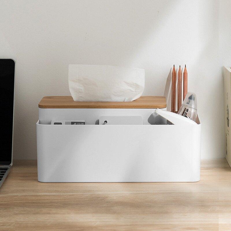 桌面紙巾盒客廳家用北歐ins風創意多功能