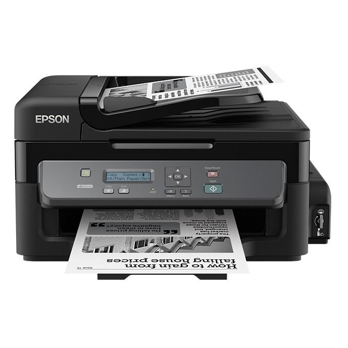 【EPSON 】 EPSON M200 黑白高速網路連續供墨複合機(六合一)