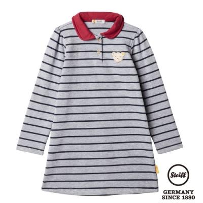 STEIFF德國精品童裝   條紋POLO衫長袖洋裝