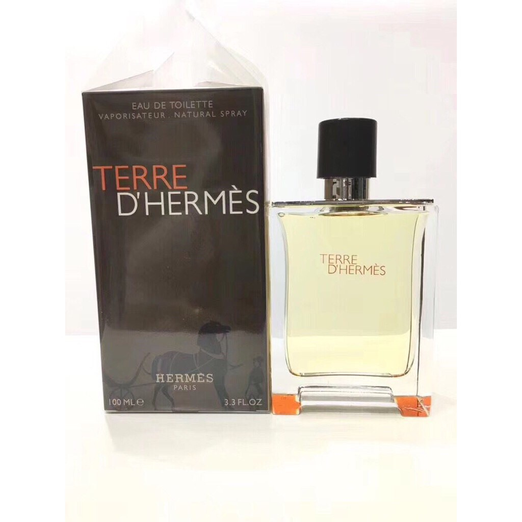 Hermes 愛馬仕 Terre D'Hermes 大地 男生 淡香水 清新木質 誘惑 成熟 中性香水 100ML