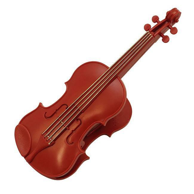 MUSIC FOR LIVING Ribbon Violin 造型夾(附筆) eslite誠品