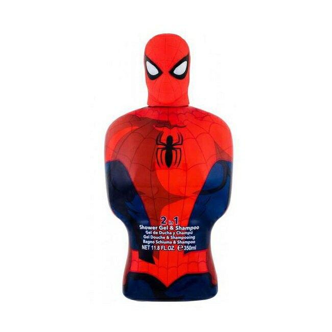 SPIDERMAN蜘蛛人2合1沐浴洗髮精350ml