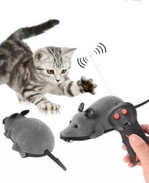 逗貓老鼠貓玩具無線遙控老鼠