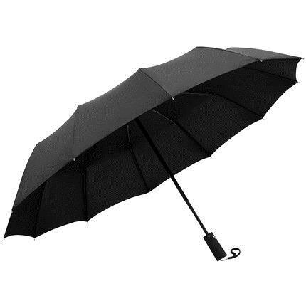 自動雨傘 男女折疊遮陽防曬防紫外線黑膠大號晴雨兩用超大太陽