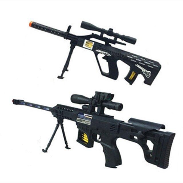 兒童玩具狙擊槍電動聲光沖鋒步槍2-3歲4-5-6-7歲小男孩子生日禮物潮【99購物節】