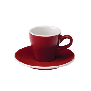 Loveramics Pro-Tulip濃縮咖啡杯盤組-共6色紅