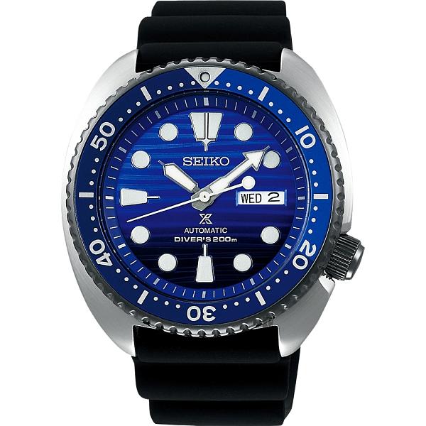廣告款 SEIKO 精工PROSPEX SCUBA 愛海洋藍鯨機械錶-45mm 4R36-05H0A(SRPC91J1)