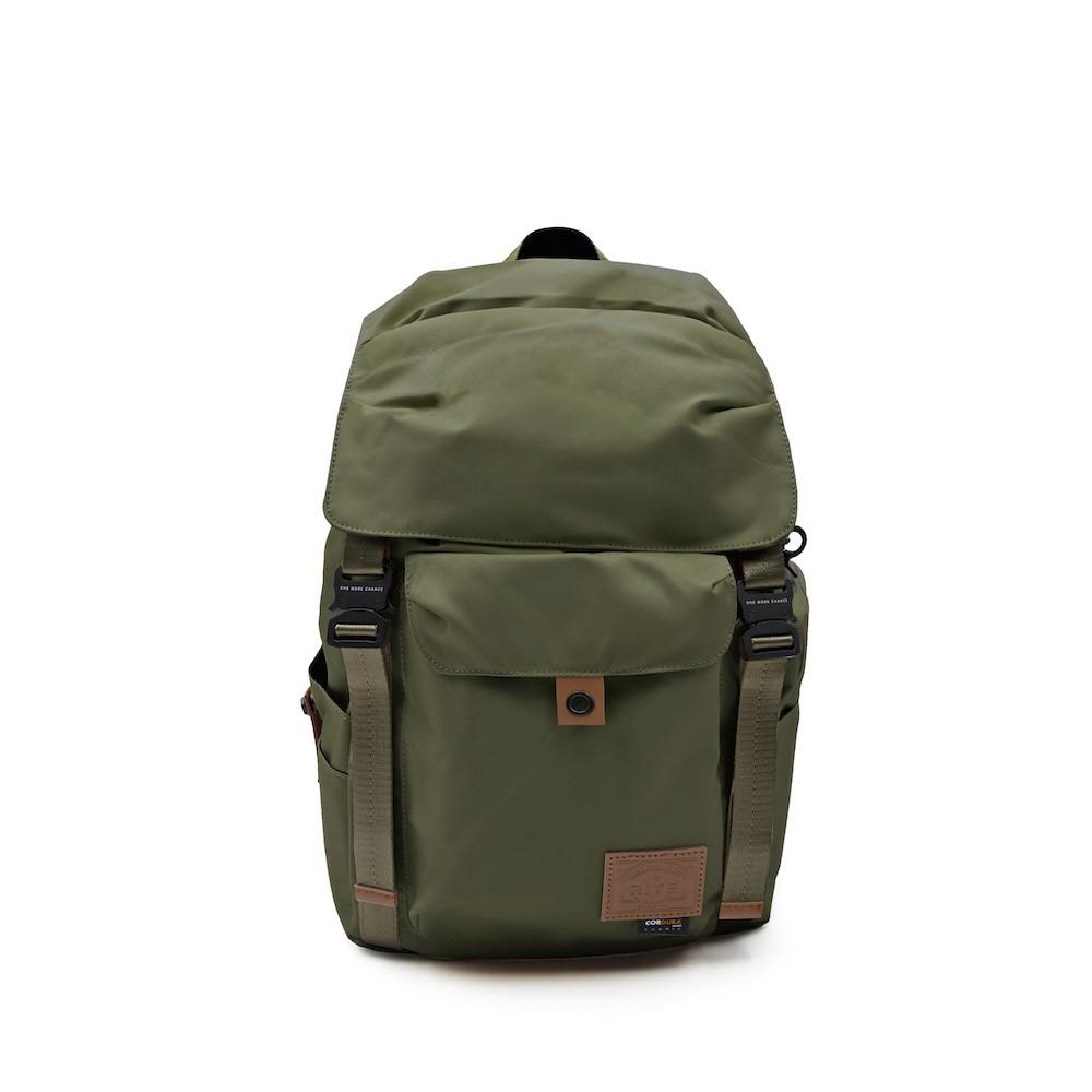 RITE TT01空軍包 軍感cordura機能筆電後背包 內附可拆卸腰包 橄欖綠