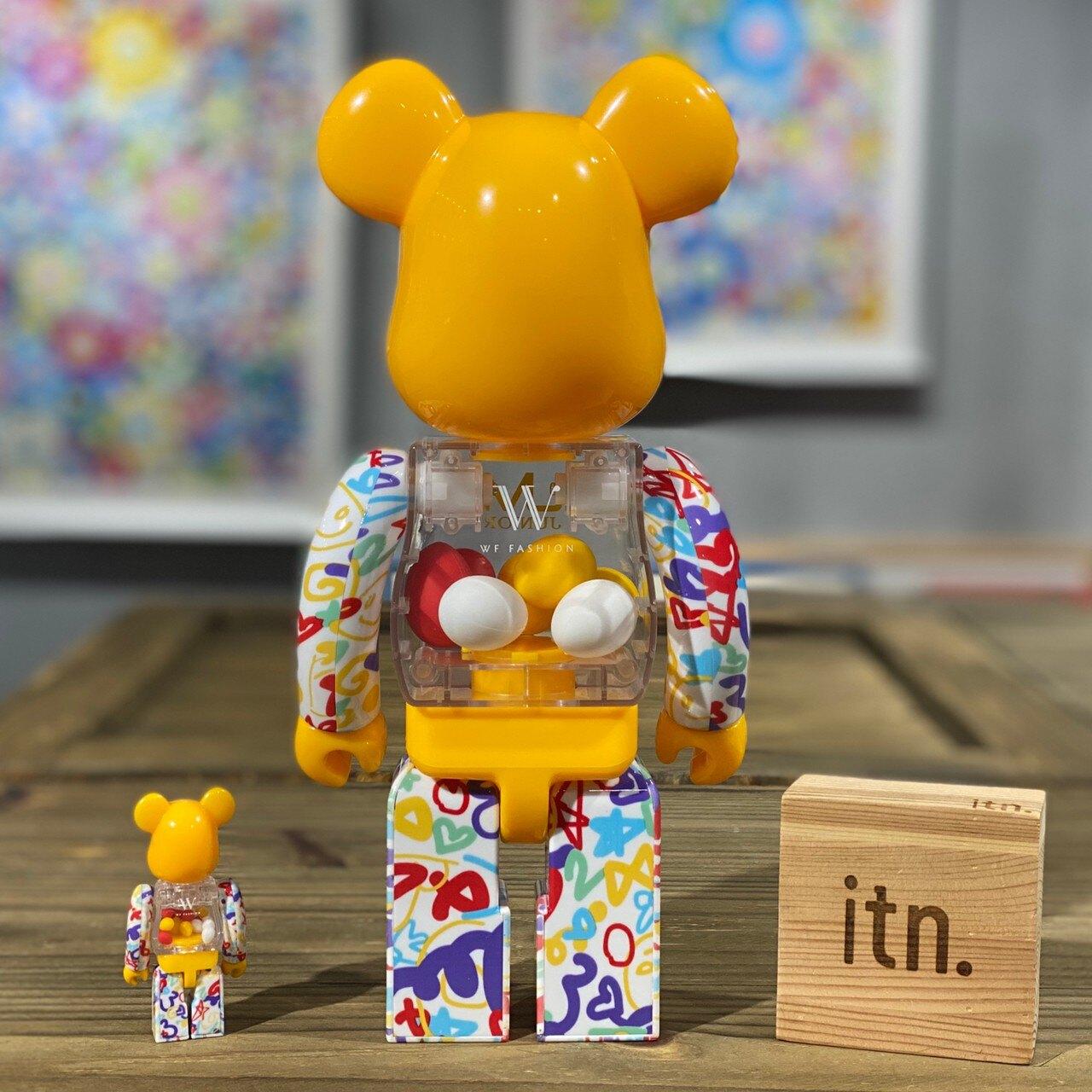 BE@RBRICK UM Junior 彩蛋 2020 MACAU 澳門 限定  400% + 100%