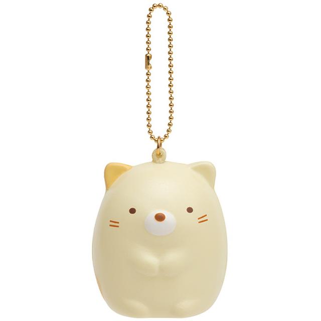 San-X 角落公仔羞羞貓兄弟系列QQ公仔吊飾。羞羞貓