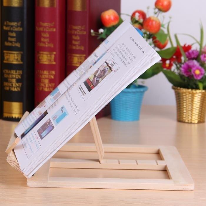 閱讀架 實木多用途 可折疊 筆記本 支架 看書架 閱讀架 讀書架