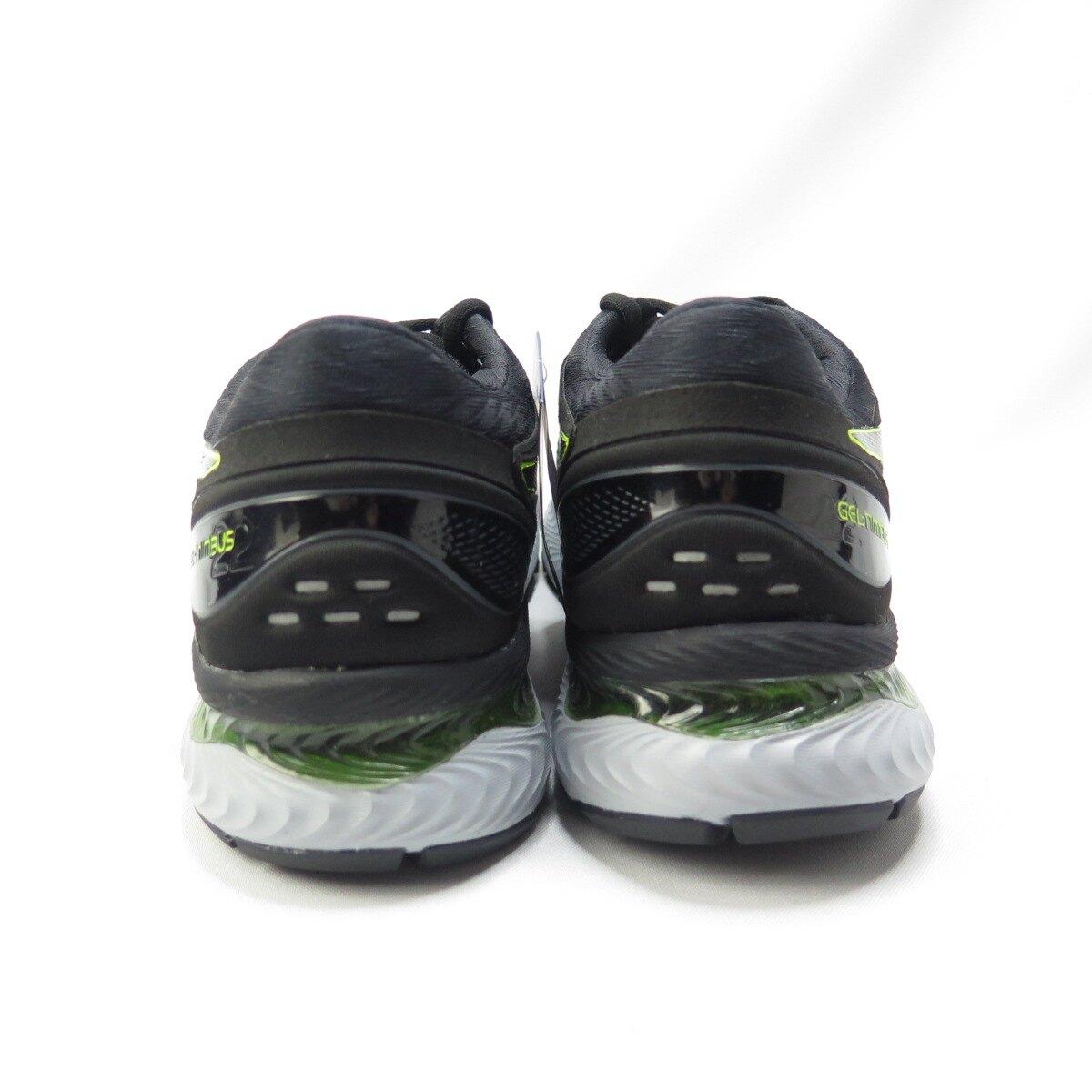 【滿額領券折$150】ASICS GEL-NIMBUS 22代 男款 慢跑鞋 1011A680026 黑螢光綠【iSport愛運動】