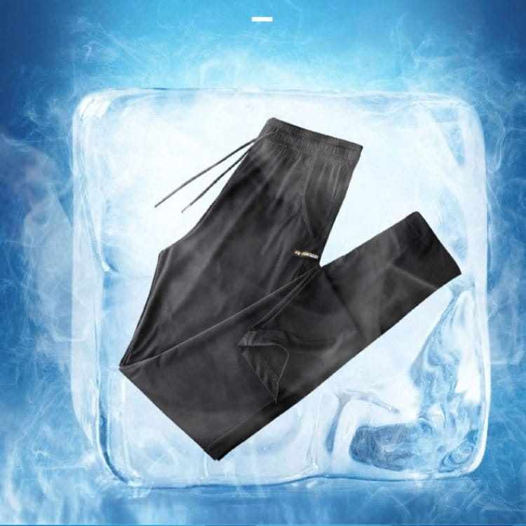 負五度 冰絲涼感直筒長褲