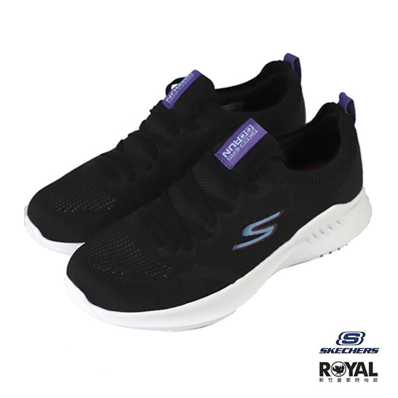 skechers go run 黑色 織布 套入 慢跑運動鞋 女款no.j0569