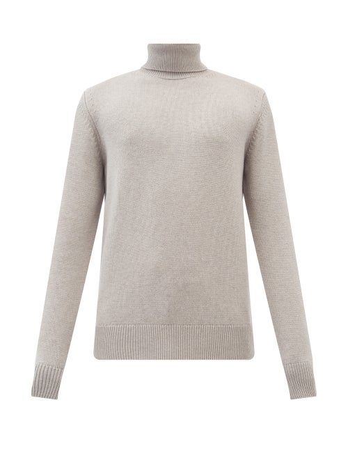 Gabriela Hearst - Charlet Cashmere Roll-neck Sweater - Mens - Beige