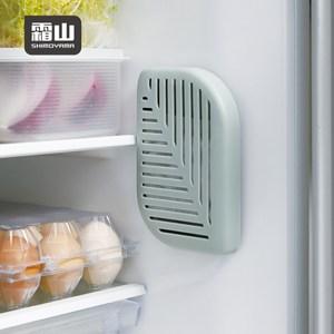 【日本霜山】活性碳冰箱除臭去味/衣櫃防潮吸濕盒(附背膠)-3入單一規格