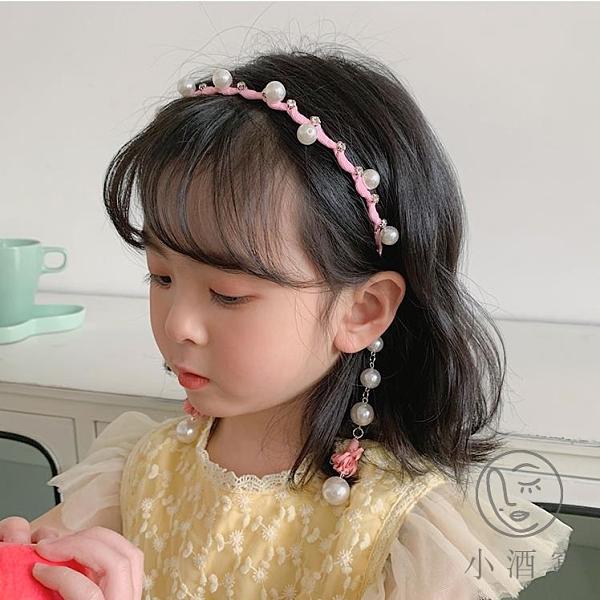 買1送1兒童髮箍女童公主頭箍防滑超萌髮卡可愛髮飾頭飾【小酒窝服饰】