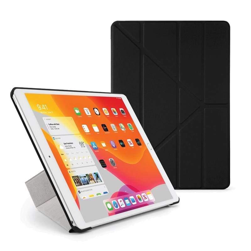 """Origami iPad 10.2"""" 多角度多功能保護套 黑色"""