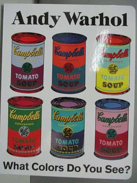 【書寶二手書T4/少年童書_ADC】Bk Board Andy Warhol