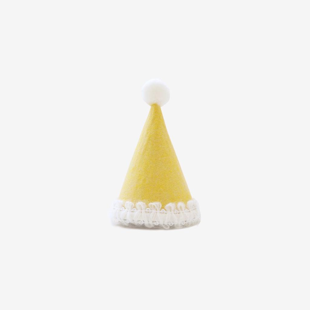 [現貨]BonBon Hat 貓咪魔法巫師帽 - Mustard