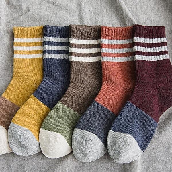 促銷 條紋長襪子女韓國中筒襪百搭韓版純棉可愛日系潮ins秋冬網紅長筒
