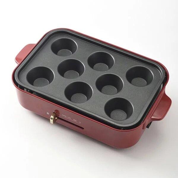 日本 BRUNO BOE021 專用 杯子蛋糕烤盤 不含主機
