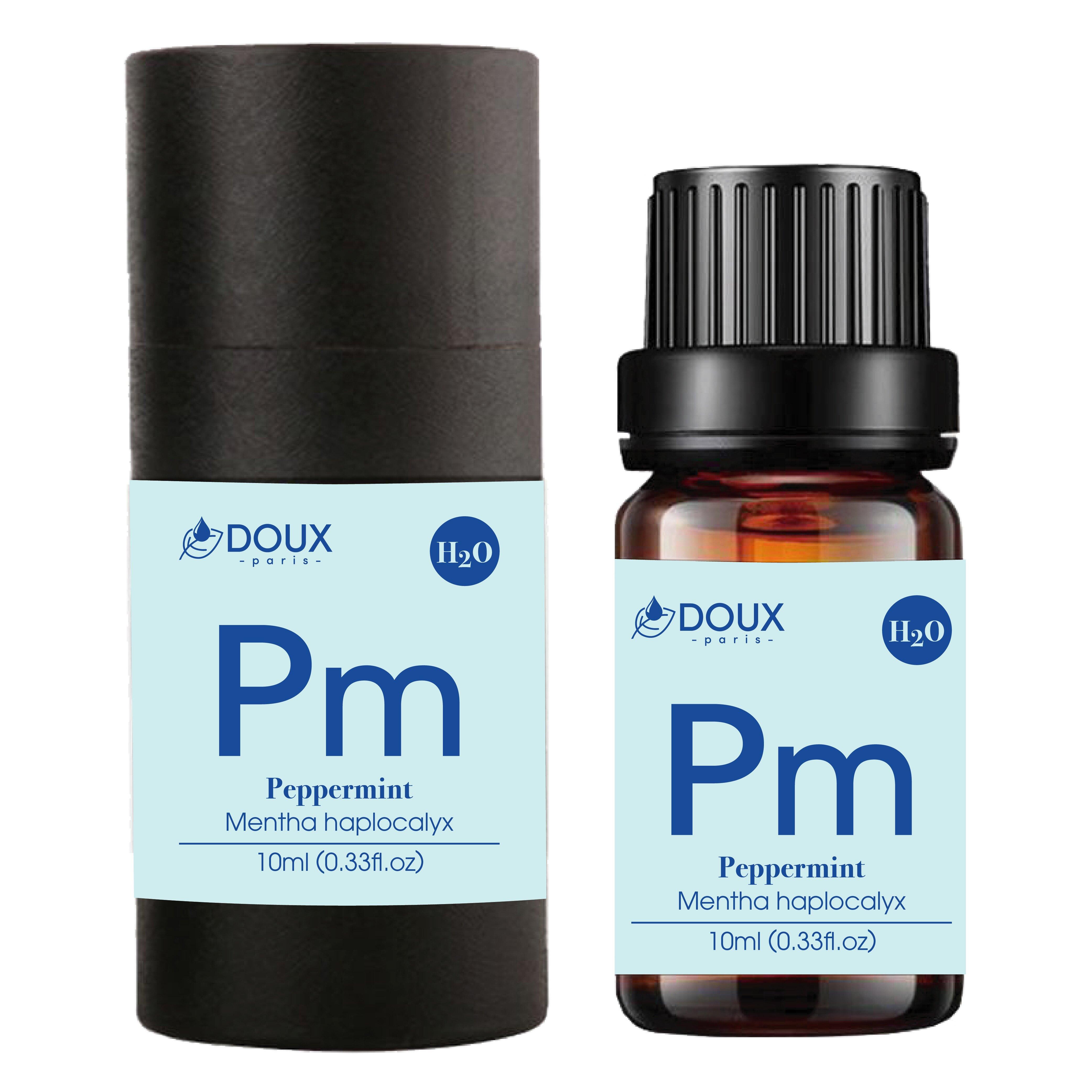 DOUX 薄荷水溶性精油 10ml 法國水氧機專用 泡澡精油