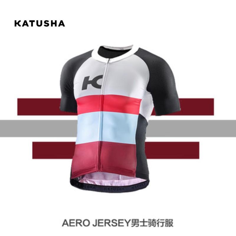 KATUSHA 氣動款騎行套裝 春夏男款短袖騎行服 AERO氣動系列