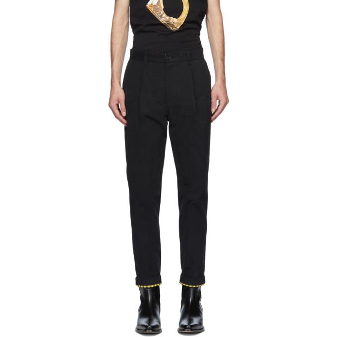 Moschino 黑色 Fantasy Print 长裤