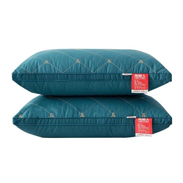 南極人枕頭枕芯雙人家用一對裝單人學生宿舍護頸椎助睡眠酒店整頭 怦然心動
