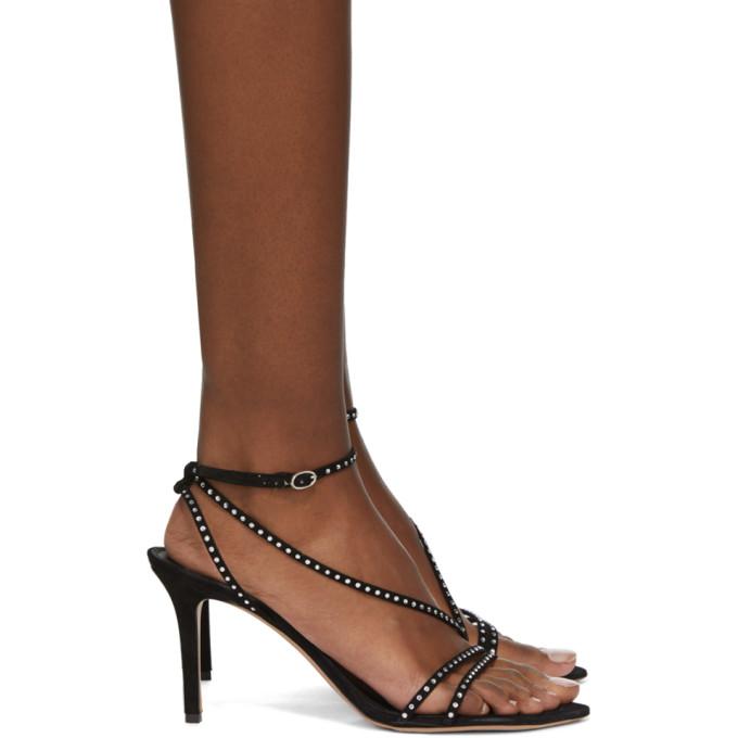 Isabel Marant 黑色 Axee 高跟凉鞋