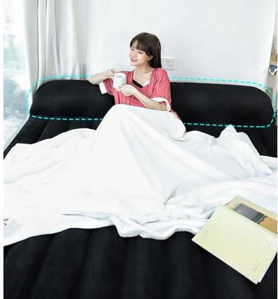 充氣床 氣墊床充氣床墊家用雙人單人加厚簡易床便攜折疊床戶外懶人充氣床 晶彩