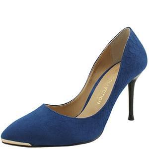 韓國空運 - Python stiletto high heels 9cm blue 跟鞋