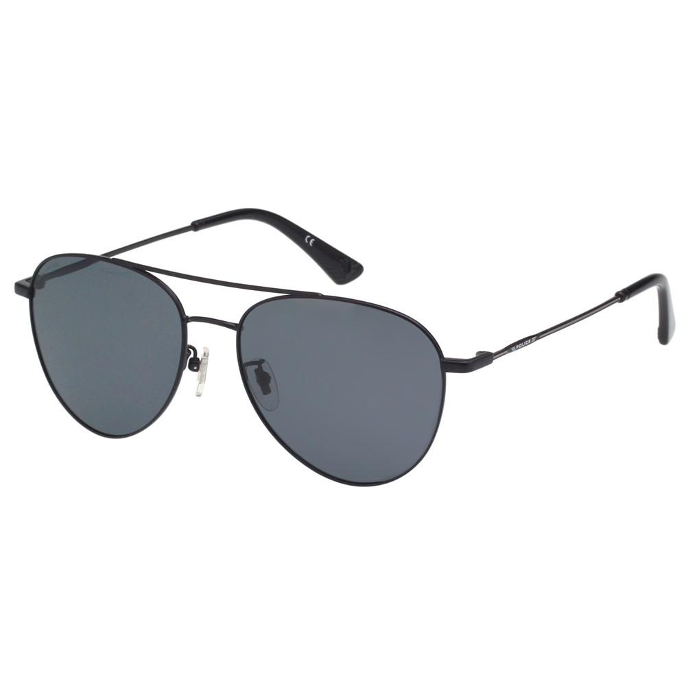 POLICE- 偏光片 太陽眼鏡 (黑色)PE-981I