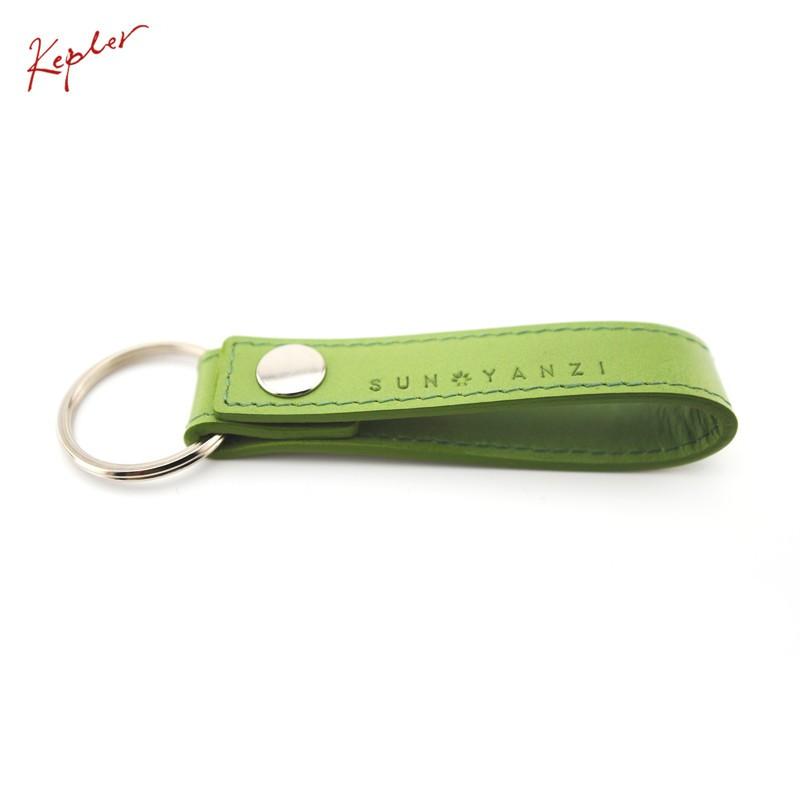 孫燕姿 克卜勒Kepler 皮革鑰匙圈 草原綠